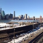 lower Mahattan from Brooklyn Heights