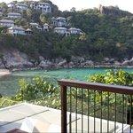View outside Ocean View Villa B01