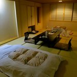 my traditional tatami room and futon