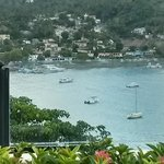 view from launch on Samana City