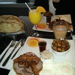 Merveilleux petit déjeuné du 31 janvier,un délice!