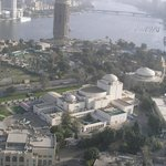 Cairo Opera House and the Nile from Cairo Tower