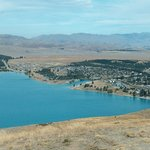 View of Lake Tekapo from Lookout