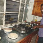 Possibly the Happiest man on Earth - Rajesh! - International Travellers' Hostel, Varanasi