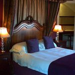an upstairs double room - a favourite with honeymoon couples