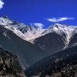 Kinner Kailash view from Reckong Peo