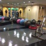 enough equipment to break a sweat haha