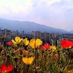 Vitosha mountain from granny's balcony