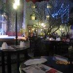 the courtyard restaurant