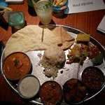 Grand thali, fabulous lunch!