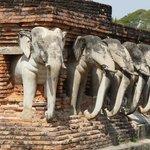 le vieux Sukhothai