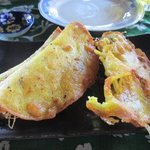 Banh xeo - crispiest we've had so far in Hoi An