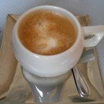 Café mousseux et délicieux