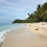 Isla Jardin del Mar beach