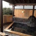 Outdoor onsen (available for private booking)