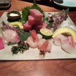 Dinner at their Japanese restaurant
