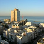 Tel-Aviv view from room window