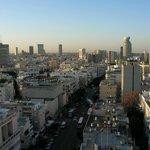 Tel-Aviv view from room window