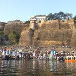 view of fort from river