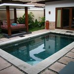 Our private pool - very secluded