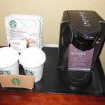 お部屋にあったコーヒーセット