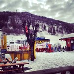 Doorstep skiing!