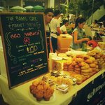 At the Bangkok Farmers Market