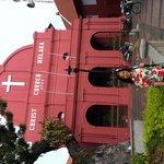 Church in red