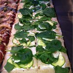 Pizza Epinards, courgettes et 5 fromages