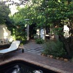the private pool are of Vreugde where we stayed.