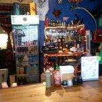 Front entrance bar