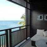 Ocean room balcony