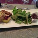 Foie gras et compote d'oignons