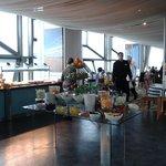 Breakfast Room overlooking sea