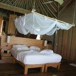 chambre water villa