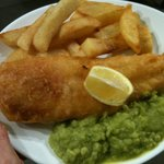 Fantastic fresh beer battered cod