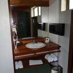 Salle d'eau bungalow tropique