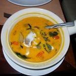 Red duck curry (Thai Restn.)
