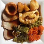 This is what a REAL EYHO roast dinner looks like!