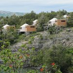yurts on the hill