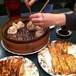 Pork dumplings and pot stickers were our favorites!