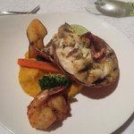 lobster at eleanors...cooked perfectly!
