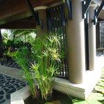 breakfast area for villa guests