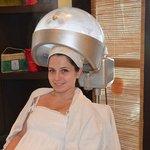 The hair treatment