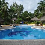 pool by bar