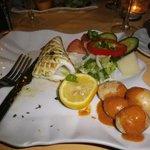 Grillad bläckfisk med kanarisk potatis