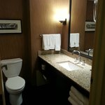 Hilton bathroom