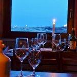 Abendstimmung bei Kerzenlicht