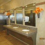 the beautiful Wal-Mart bathroom :)