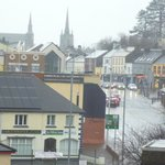 Enniskillen town from room 340